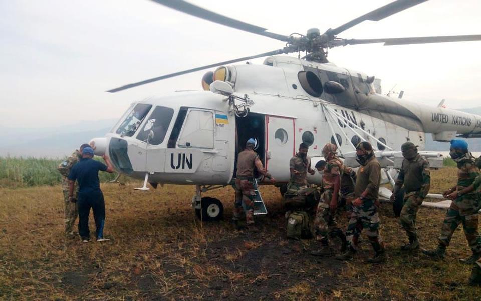 В Конго отправляется очередная ротация украинских воинов