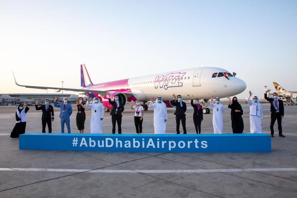 WIZZ AIR ABU DHABI отпраздновала прибытие первого нового самолета