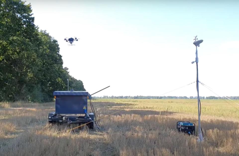 Компания A.Drones показала дронопорт