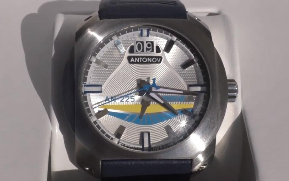 Киевский часовой завод представил Antonov Watches by Kleynod