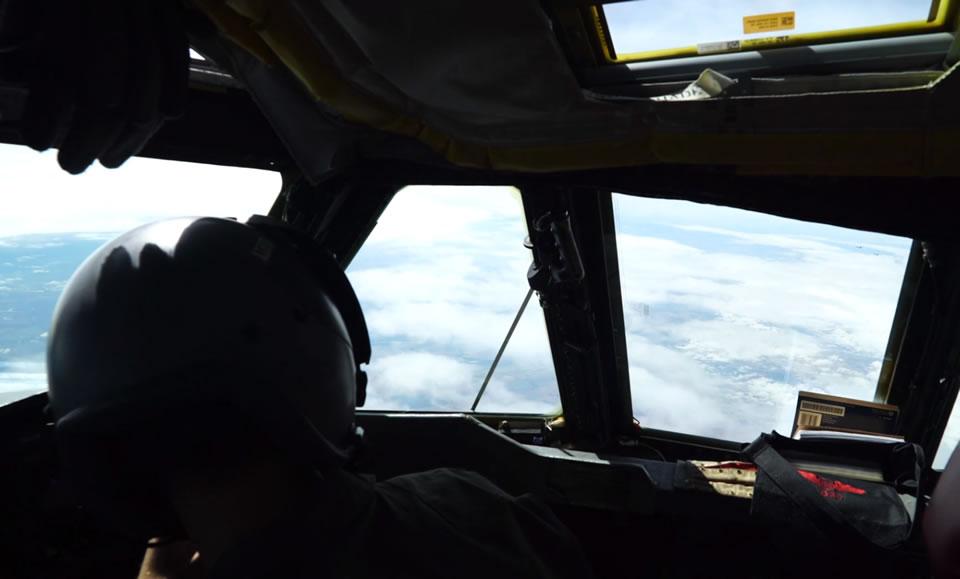 Полет над Украиной - с борта B-52