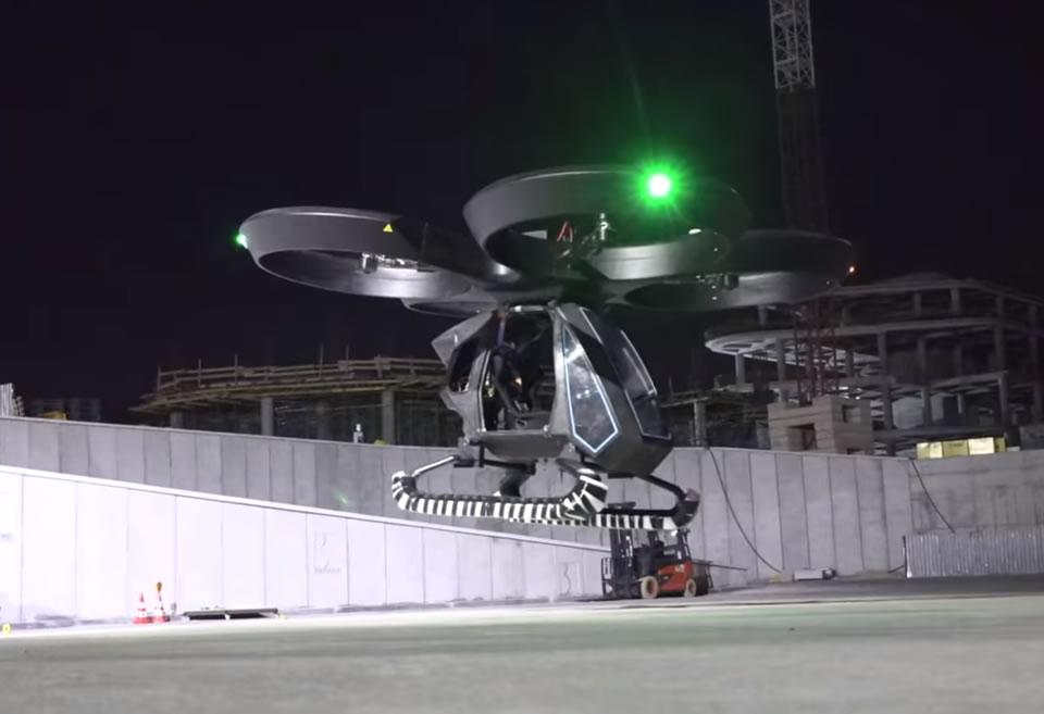 Совершил первые испытательные полеты прототип турецкого летающего автомобиля CEZERI
