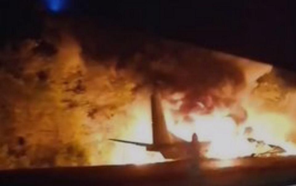 Под Чугуевом разбился самолет