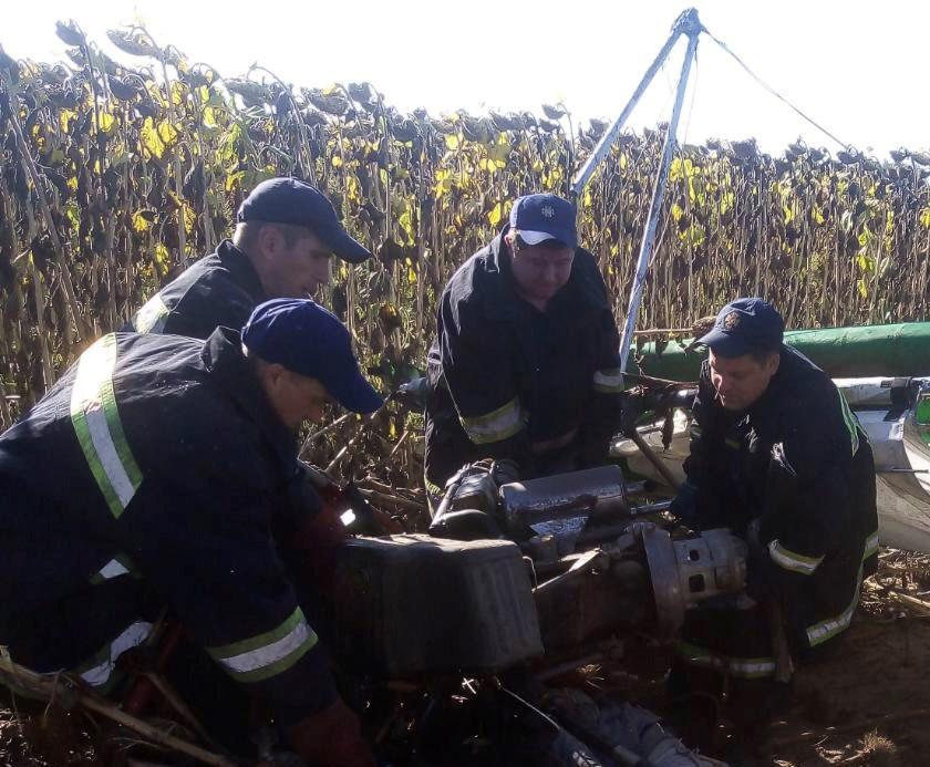 В результате падения мотодельтаплана погиб пилот