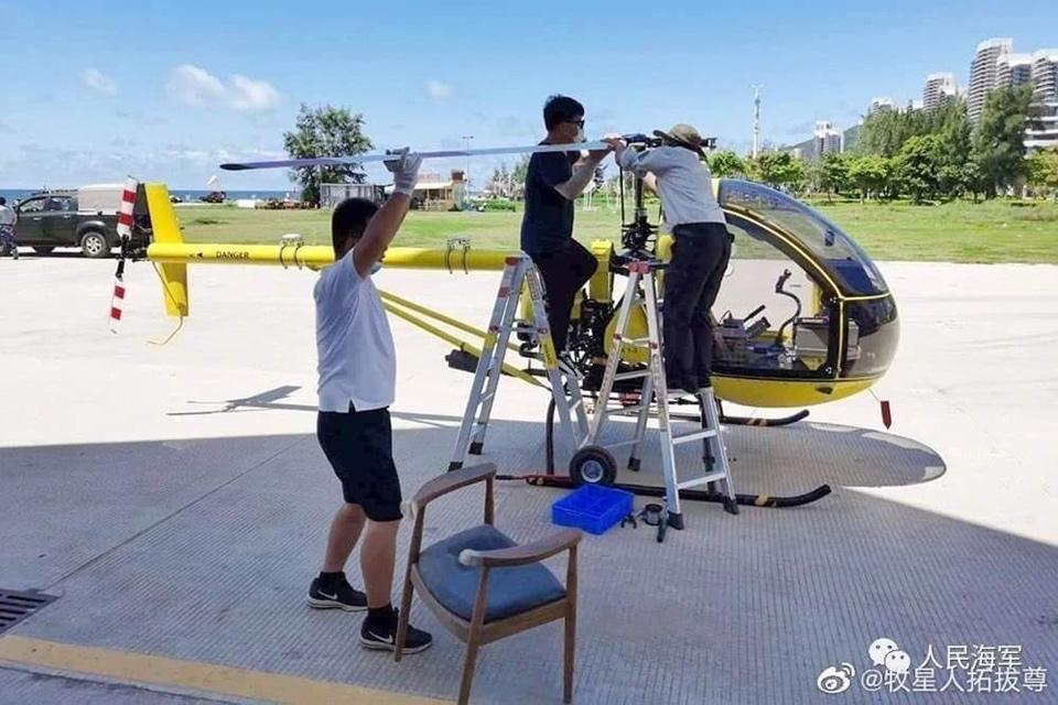 В Китае вертолет АК1-3 превратили в беспилотник