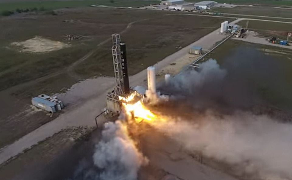 Компания Firefly успешно испытала первую ступень ракеты Alpha