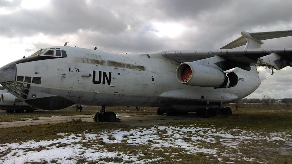 УАТК выставляет на продажу три Ил-76