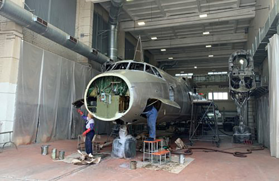 До конца года Завод 410 ГА примет на ремонт 3-4 самолета
