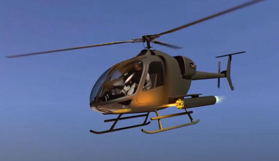 Применение боевого вертолета ВМ-4В