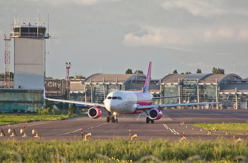 В аэропорту Киев появился терминал для туристов