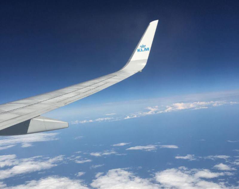 Авиакомпания KLM восстанавливает рейс Амстердам-Киев-Амстердам