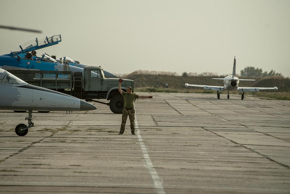 Командирские полеты истребительной авиации