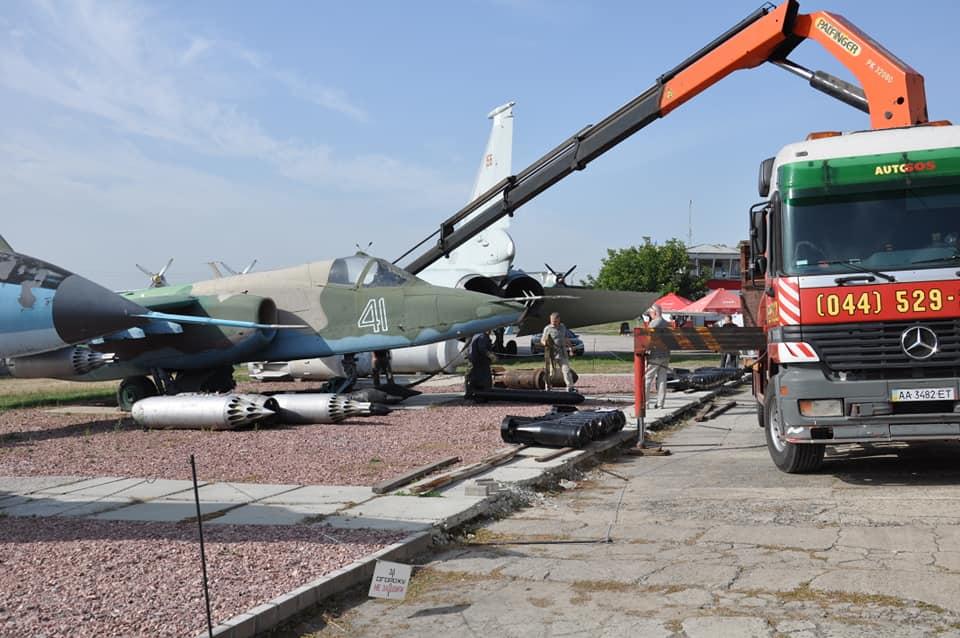 Государственный музей авиации продолжает пополнять экспозицию