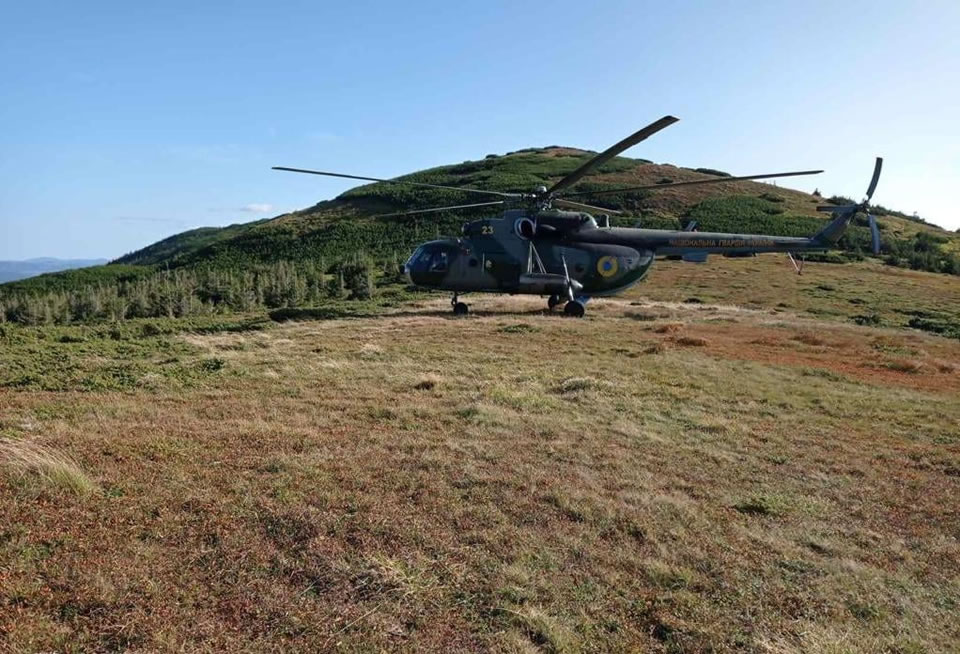 Вертолетчики-нацгвардейцы готовятся в горных условиях