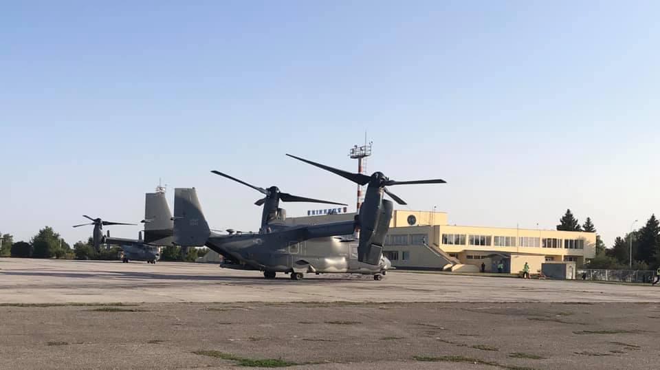 В Винницу прибыли Osprey