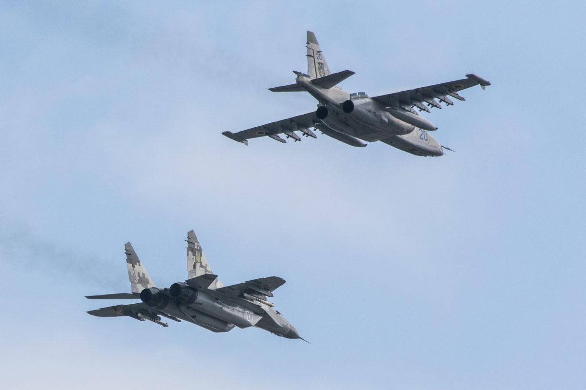 Боевая подготовка летного состава Воздушных Сил постоянно наращивается
