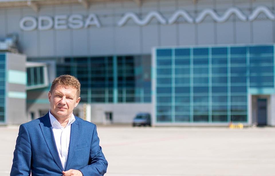У аэропорта Одессы новый директор