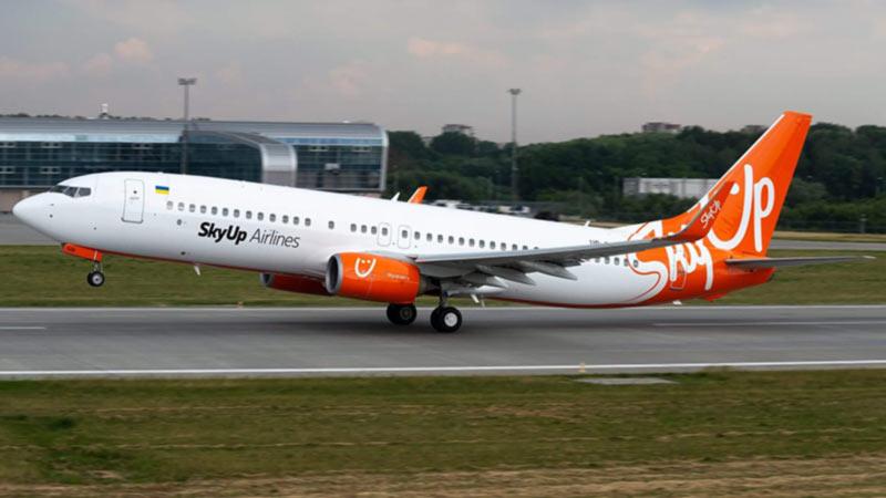 SkyUp в августе выполнила 1231 рейс