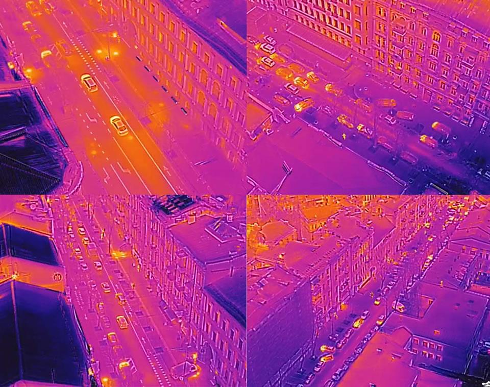 В новом отопительном сезоне состояние киевских теплосетей будут мониторить с помощью дронов