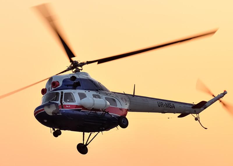 Вертолетные экскурсии над Запорожьем