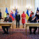 Украина и Словакия подписали соглашение