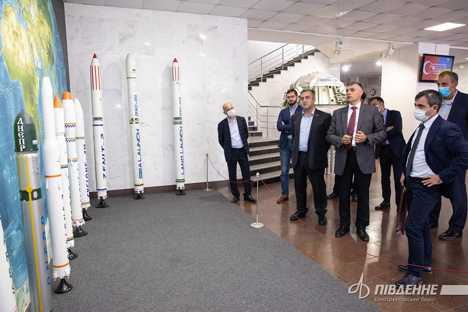Турция заинтересована в украинской космической программе