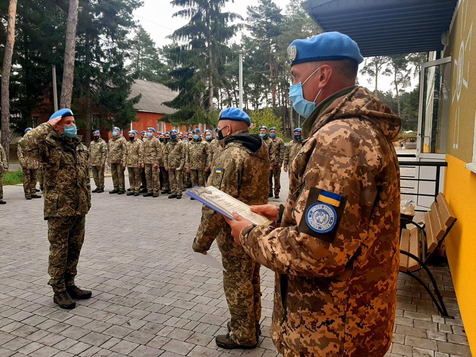 Украинские миротворцы вернулись из Конго