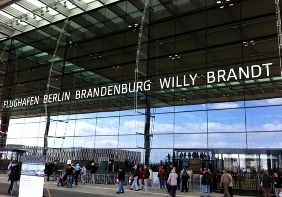Новый аэропорт Берлина откроется через месяц