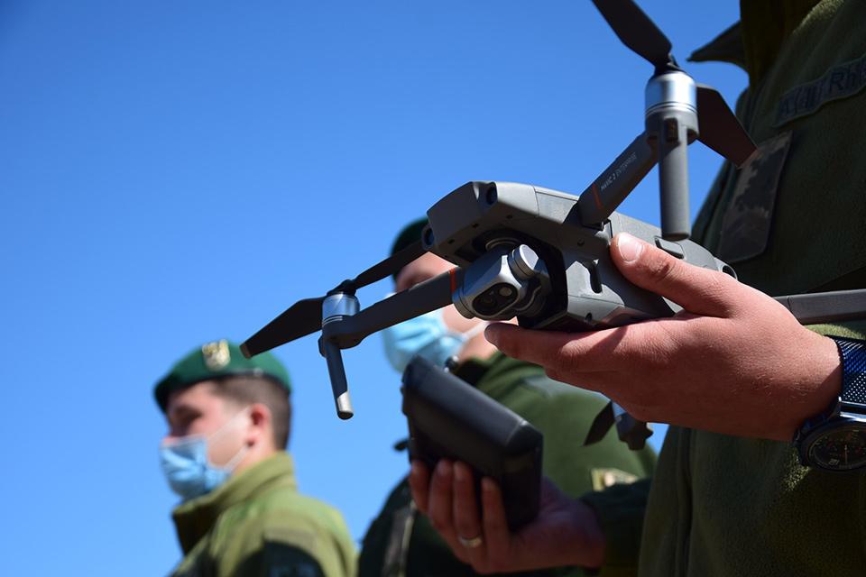 9 пограничников прошли обучение на операторов БПЛА