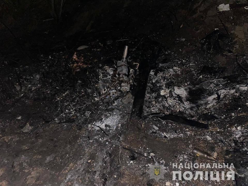 Полиция расследует падение самолета на Киевщине