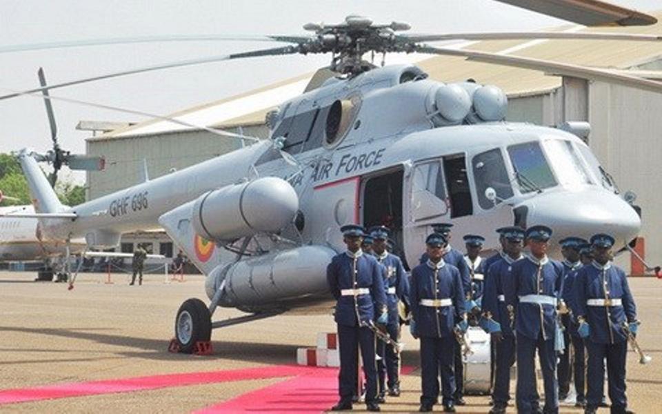 Авиакон отремонтировал Ми-171 для Ганы