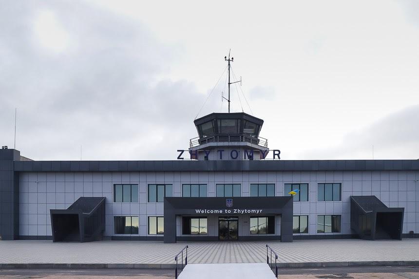Фотоэкскурсия по житомирскому аэропорту