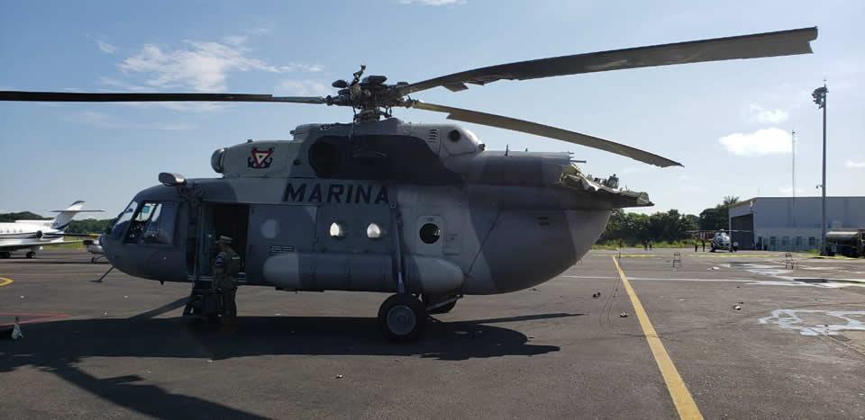 Ми-17 в Мексике врезался в диспетчерскую вышку