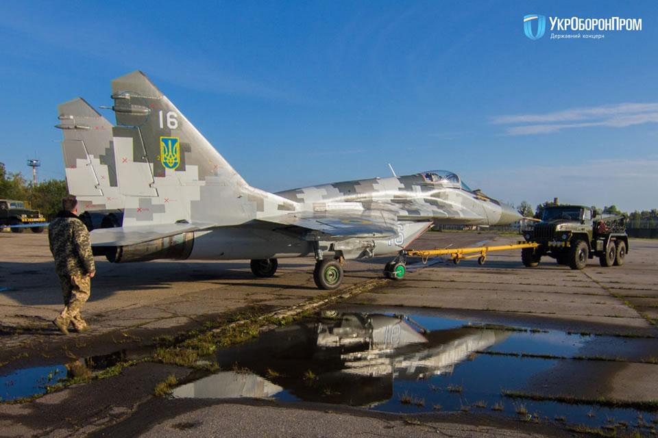 Воздушные Силы получили еще один модернизированный МиГ-29МУ1
