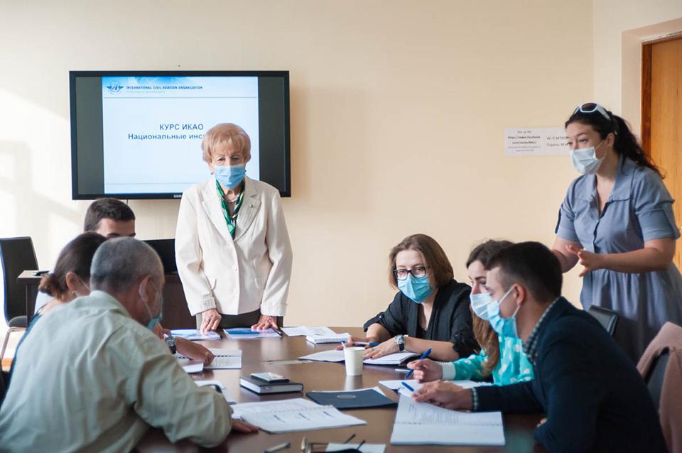 В НАУ провели курс по функционированию системы авиационной безопасности в условиях COVID-19