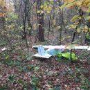 В пограничной части Львовской области нашли разбитый дрон