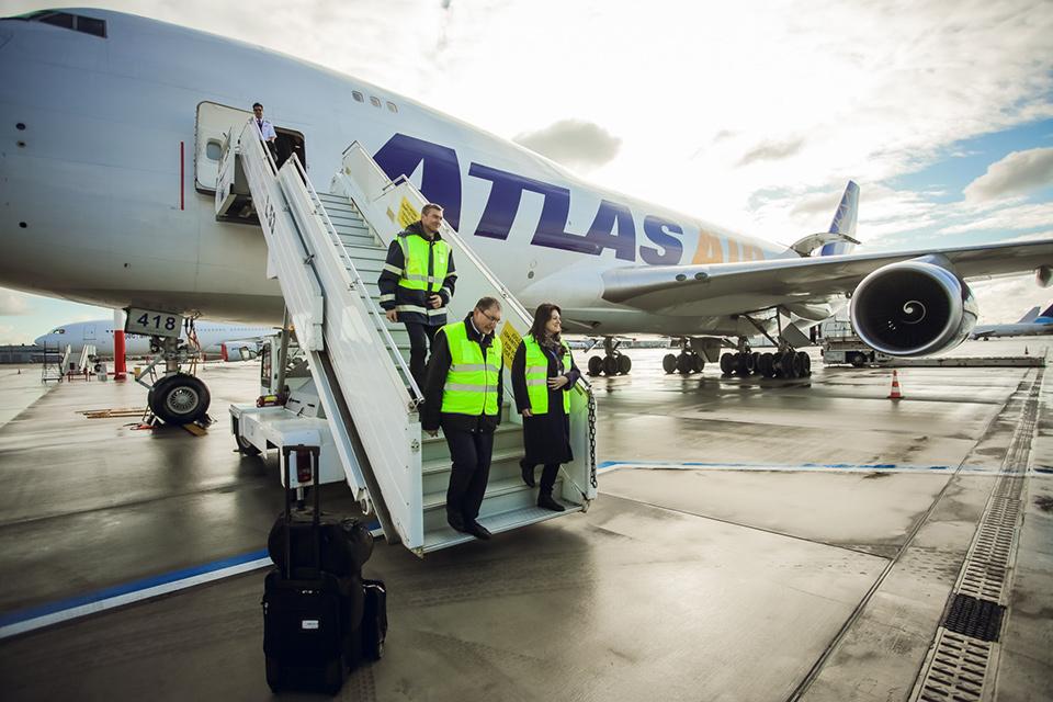 В аэропорту Рига начал работу новый специализированный перрон для обслуживания грузов