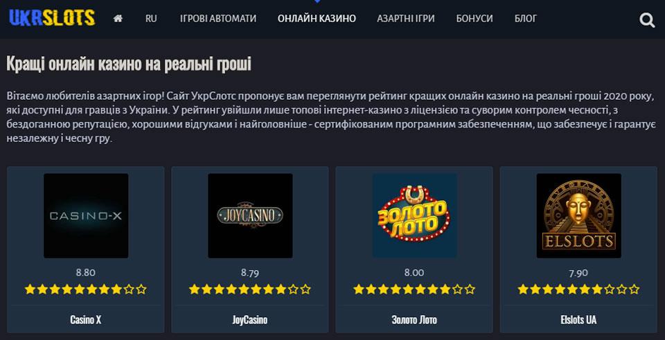 Онлайн казино для впевнених в собі гравців, чесні виплати та безпеку данних гарантується