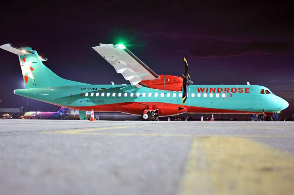 Windrose начинает выполнение регулярных авиарейсов в балканские столицы