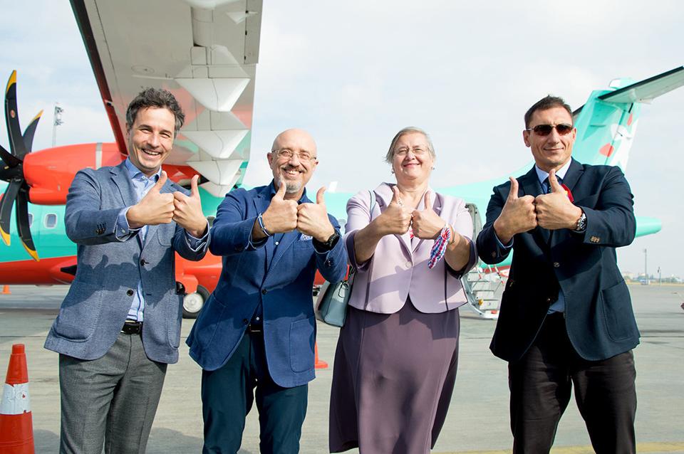 Авиакомпания Windrose начала полеты в Загреб