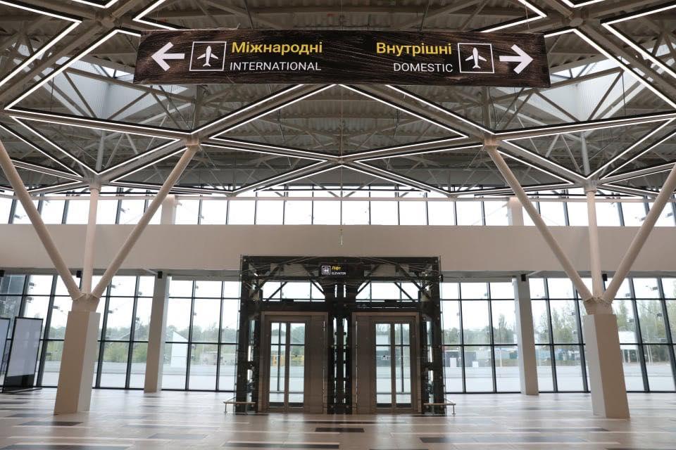 Новый терминал аэропорта Запорожья начнет работу 19 октября