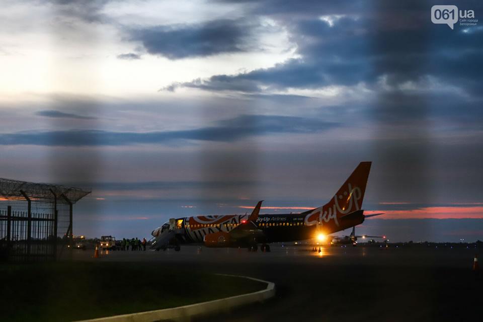 SkyUp планирует запуск рейсов из Запорожья в Батуми, Ларнаку и Прагу