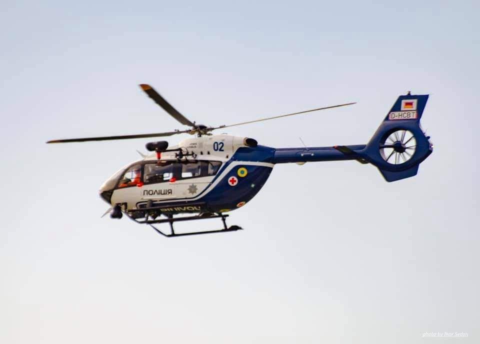 Нацполиция ищет специалистов на техобслуживание вертолетов