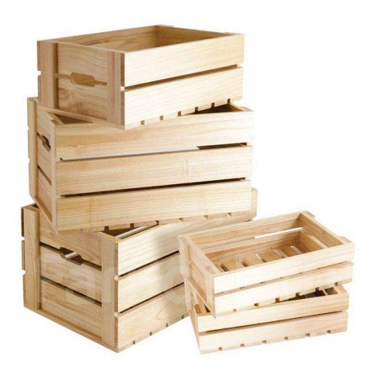 Способы и история применения деревянных ящиков