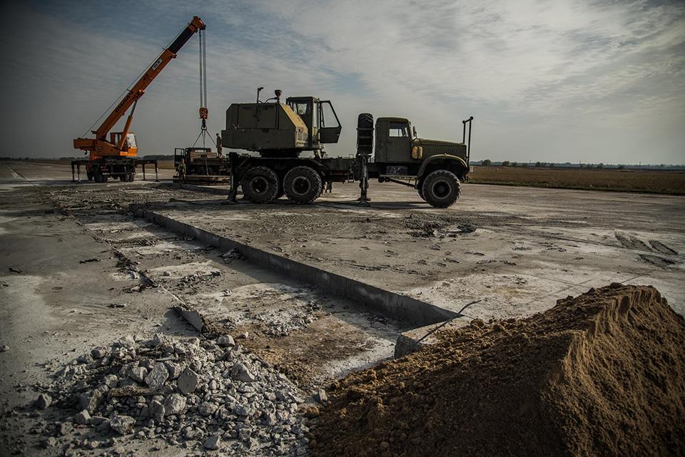 В Миргороде восстанавливают аэродром