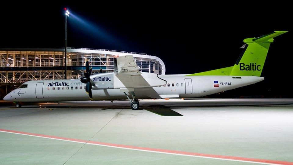 airBaltic открыла в Литве филиал для полетов в Киев