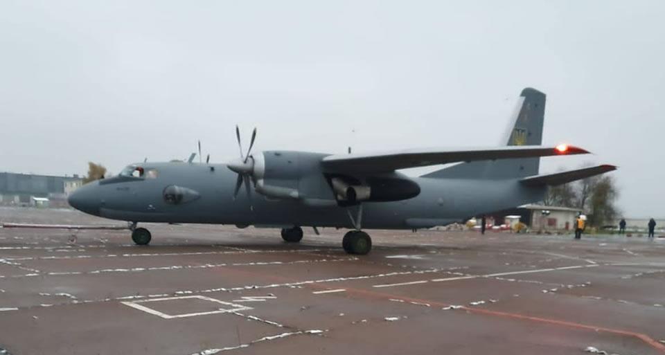 Поврежденный в июне Ан-26 снова в воздухе