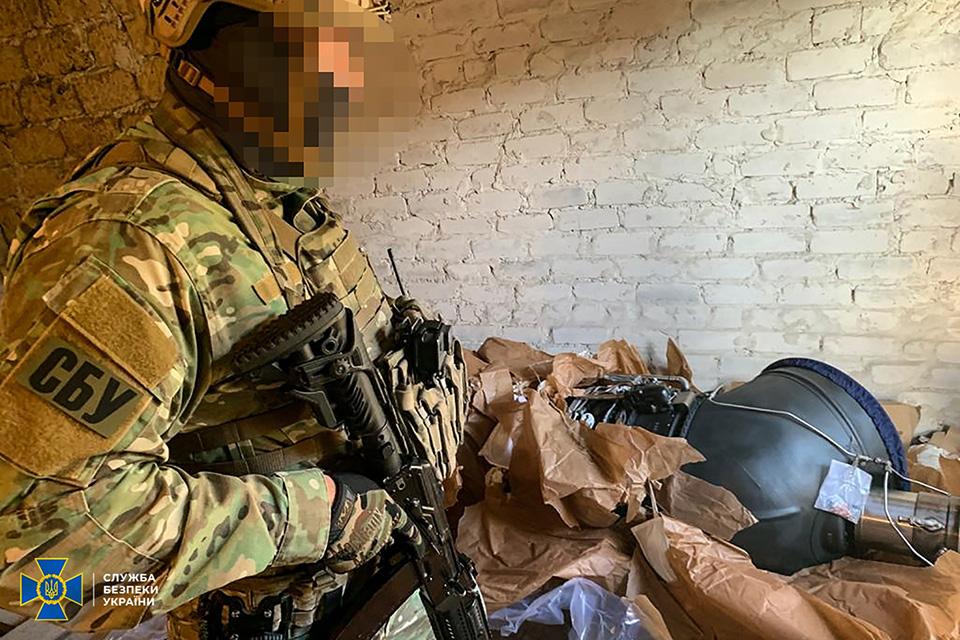 СБУ блокировала незаконные поставки из Украины авиационных комплектующих к военной технике