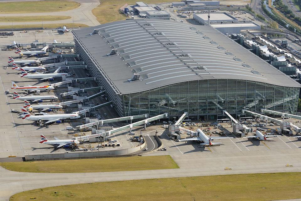Аэропорт Хитроу начнет принимать рейсы из Киева
