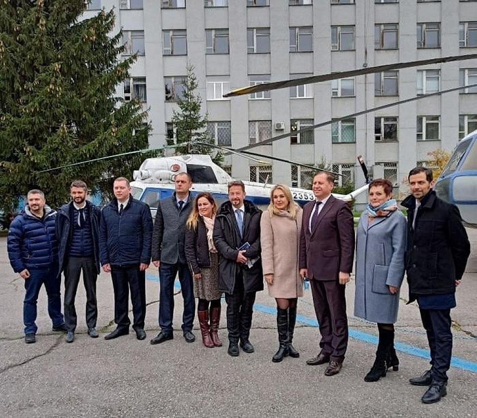 Французская делегация прибыла в Кременчугский летный колледж